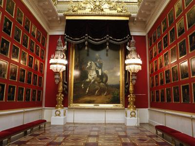 Generals Room of the Winter Palace in St. Petersburg, Russia