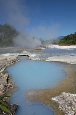 Melanesia, Papua New Guinea, Fergusson Island, del Hot Springs