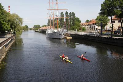 The Canals of Klaipeda, Lithuania