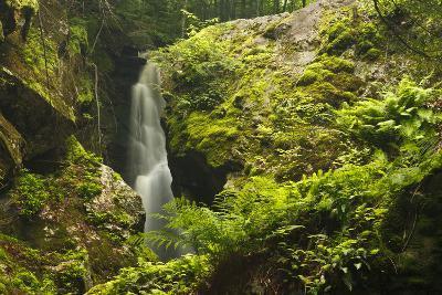 Royalston Falls in Royalston, Massachusetts. Falls Brook