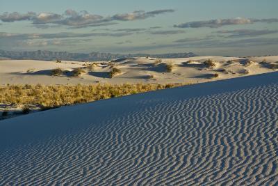 Desert Vista, Cloudy, White Sands Nm, Alamogordo, New Mexico