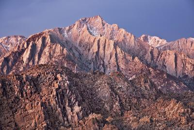 USA, California, Alabama Hills, Eastern Sierra Nevada Mountains