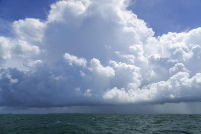 Thunderstorm Above the Lower Florida Keys, Florida Bay, Florida