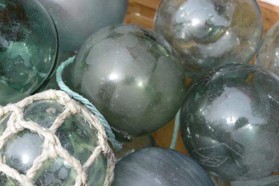 Antique Anese Gl Fishing Floats