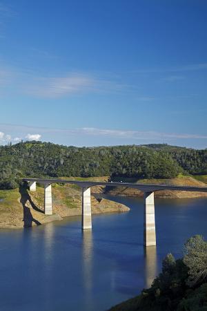Archie Stevenot Bridge Carrys SR 49 across New Melones Dam, California