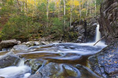 Kinsman Falls and Cascade Brook in New Hampshire's White Mountains