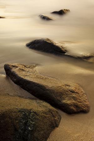 Dawn at Sand Beach in Maine's Acadia National Park