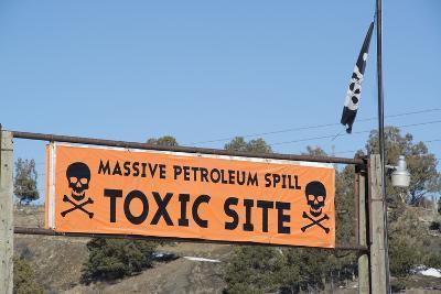 Site of Petroleum Spill Near Mancos Colorado