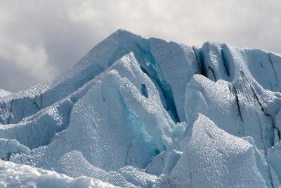 Close Up of the Matanuska Glacier Blue Ice
