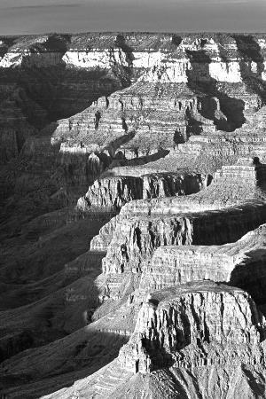 USA, Arizona, Grand Canyon NP. Landscape of Eroded Formations