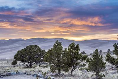 Sunset over Great Sand Dunes National Park