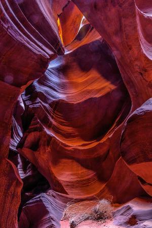 USA, Arizona, Paige. Rock Patterns in Antelope Canyon