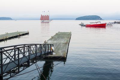 The Schooner Margaret Todd in Bar Harbor, Maine