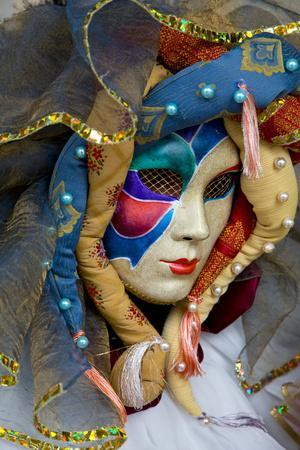 Venice, Italy. Mask and Costumes at Carnival