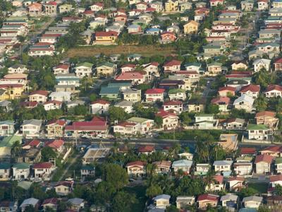 Aerial View of Georgetown, Guyana