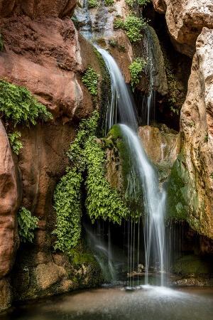 Clear Creek Falls. Clear Creek. Grand Canyon. Arizona. USA