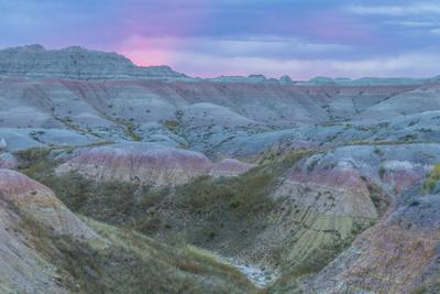 USA, South Dakota, Badlands National Park. Wilderness Landscape