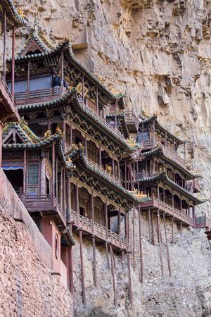 China, Shanxi Province, Hang Shen Mountain, Hanging Palace