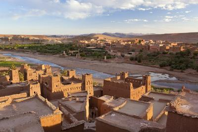 Morocco, High Atlas Mountains, Classified as World Heritage by UNESCO