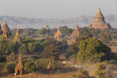 View of the Pagodas and Temples of the Ancient City of Bagan, Myanmar