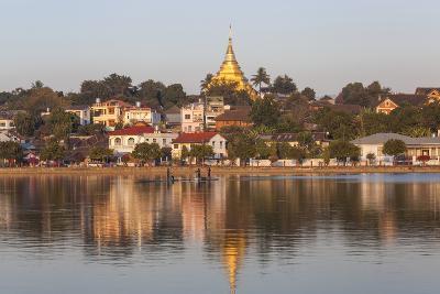Wat Jong Kham Sits on a Hill in Kyaing Tong Town, Myanmar
