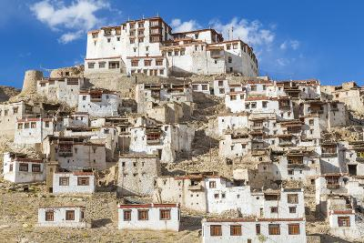 Chemre or Chemrey Village and Monastery, Near Leh, Ladakh, India
