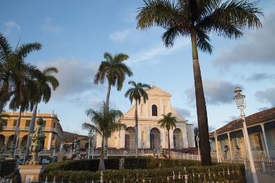 Cuba, Trinidad. Iglesia Parroquial de La Santisima