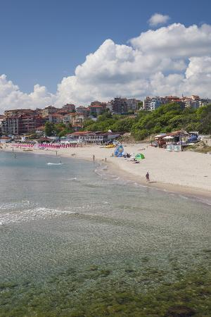 Bulgaria, Black Sea Coast, Sozopol, Town Beach
