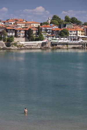 Bulgaria, Black Sea Coast, Sozopol, Town and Fortress Walls