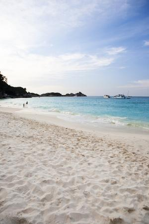 Beach Seascape of a Remote Island, Similan Surin Island Chain