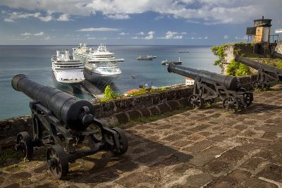 Cannon of Fort Georges, Saint Georges, Grenada, West Indies