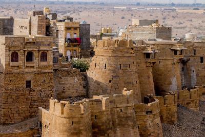 Jaisalmer Fort. Golden Sandstone Fort. Jaisalmer. Rajasthan. India