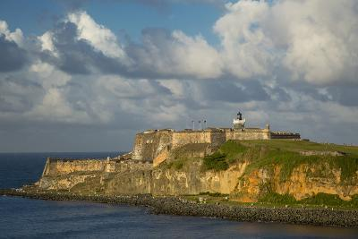 Sunset over Fortress El Morro, Old Town, San Juan, Puerto Rico