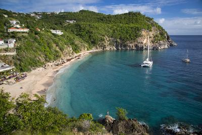 Boats at Anchor, Shell Beach, Gustavia, St. Barts, French West Indies