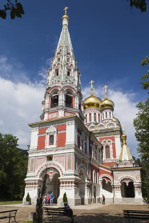 Bulgaria, Shipka, Shipka Monastery, Nativity Memorial Church