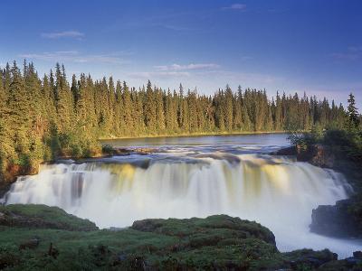 Canada, Manitoba, Pisew Falls