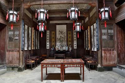 Hongcun Village, Interior of Home, UNESCO World Heritage Site