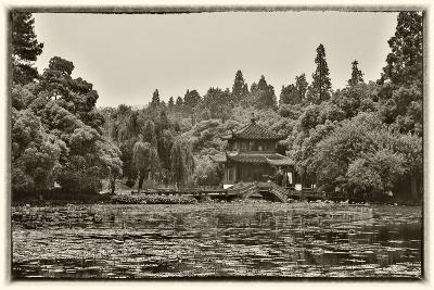 Pagoda Along the Waterfront West Lake, Hangzhou