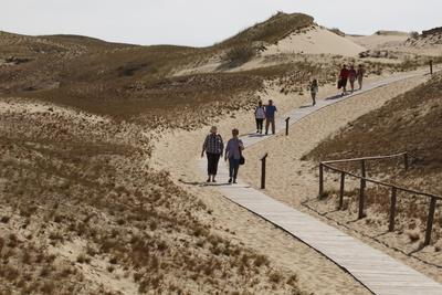 The Curonian Spit Dunes in Klaipeda, Lithuania