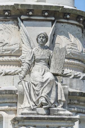 Portugal, Lisbon, Monument of Alfonso de Albuquerque Detail