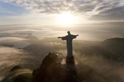 Art Deco Statue of Jesus,On Corcovado Mountain, Rio de Janeiro, Brazil