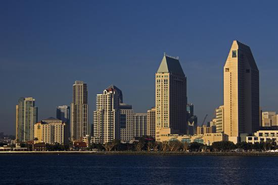 Usa California San Diego Downtown San Diego City Skyline Photo Kymri Wilt Allposters Com