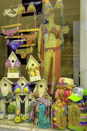 Wares for Sale in the Old City, Ciudad Vieja, Cartagena, Colombia