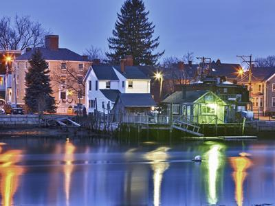 The South End of Portsmouth, New Hampshire