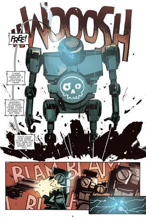 Zombies vs. Robots: No. 10 - Comic Page with Panels