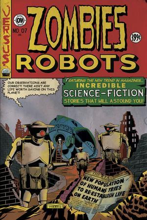 Zombies vs. Robots: No. 7 - Cover Art