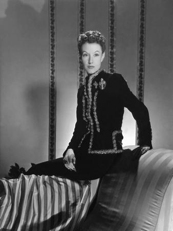 Mrs. Ronald Balcom (Aka Millicent Rogers) Wearing Black Velvet Schiaparelli Dinner Suit