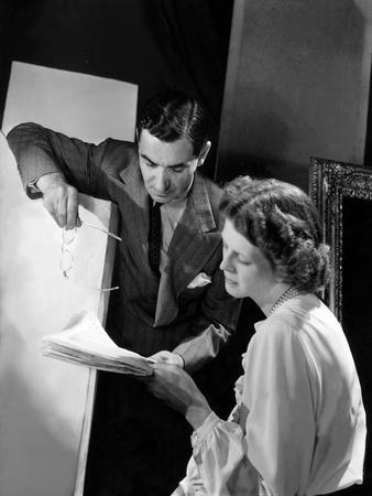 Songwriter and Playwright Irving Berlin and His Wife (Formerly Ellin Mackay)