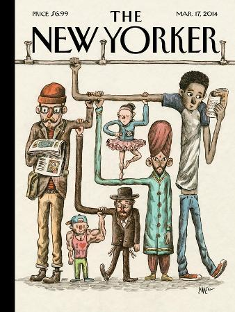 The New Yorker Cover - March 17, 2014