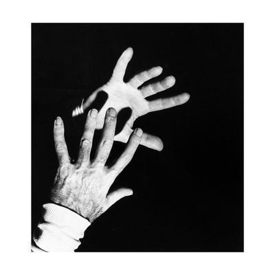Close-Up Shot of the Hands of Dr. Michael De Bakey